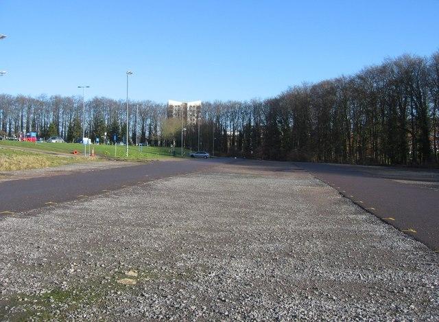 North Hants Hospital car park