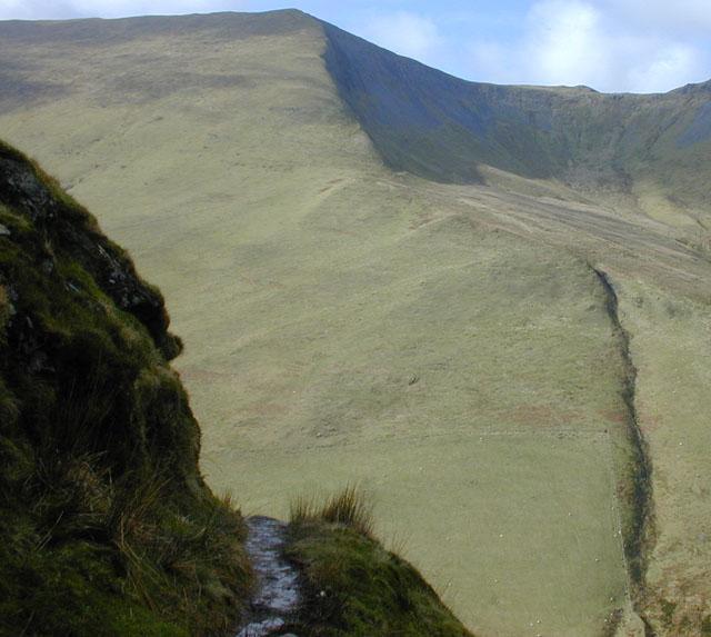 Airy path above Hengwm