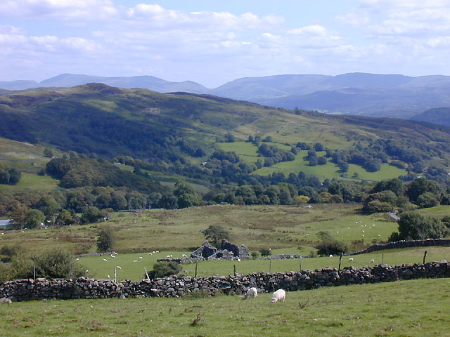 Slopes west of Hirgwm