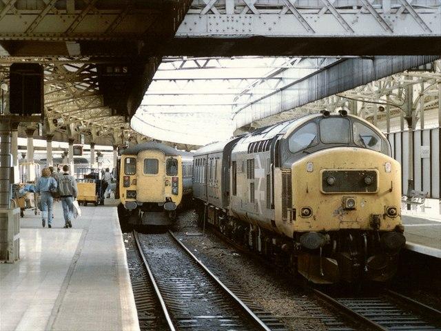 Railway Station, Aberdeen
