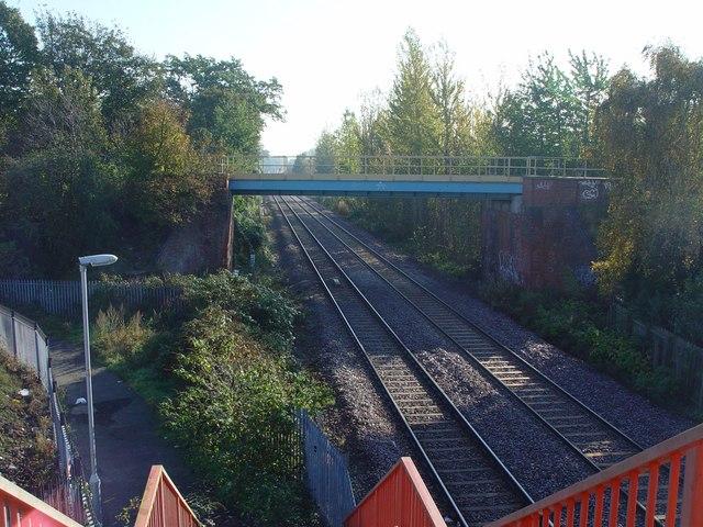 Railway Bridge over the Railway