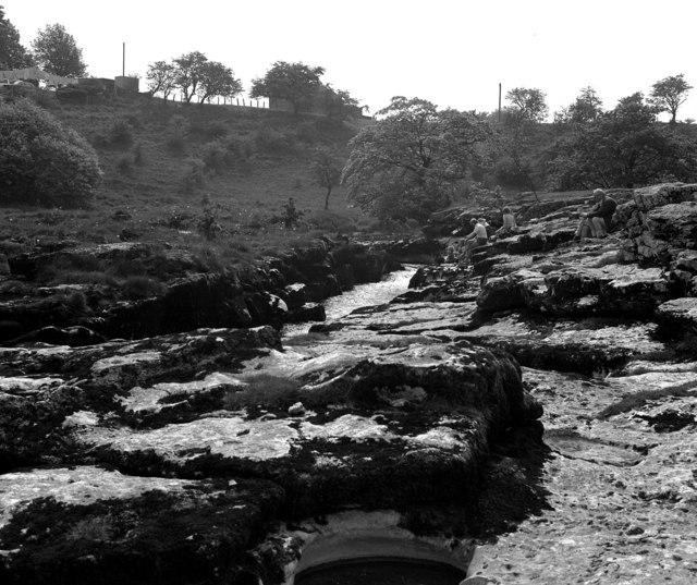 Ghaistrill's Strid, River Wharfe, near Grassington