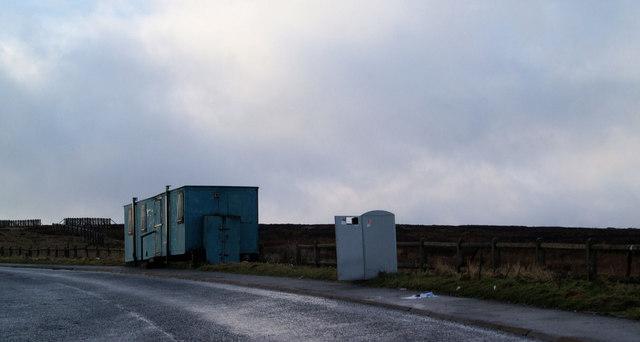 Roadside cafe on the A628