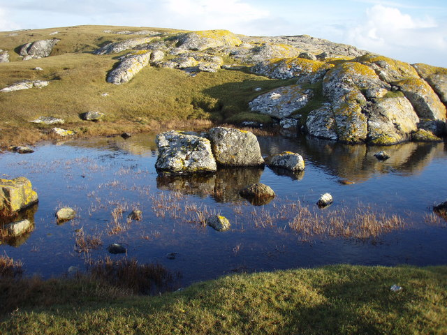 Small pool on Rubha Liath