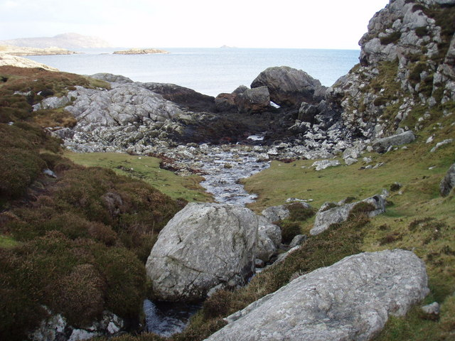 Outflow from Loch a' Chapuill