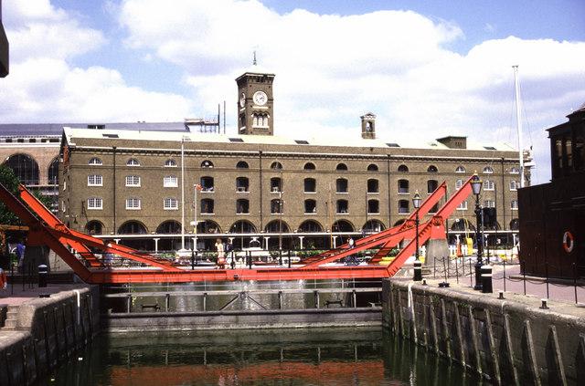 St Katharine docks, London