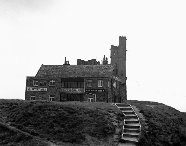 The 'Castle Hill' public house, Newsome, near Huddersfield