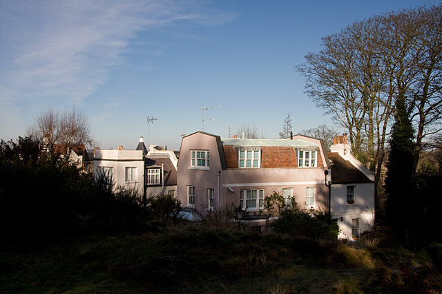 Houses on West Heath