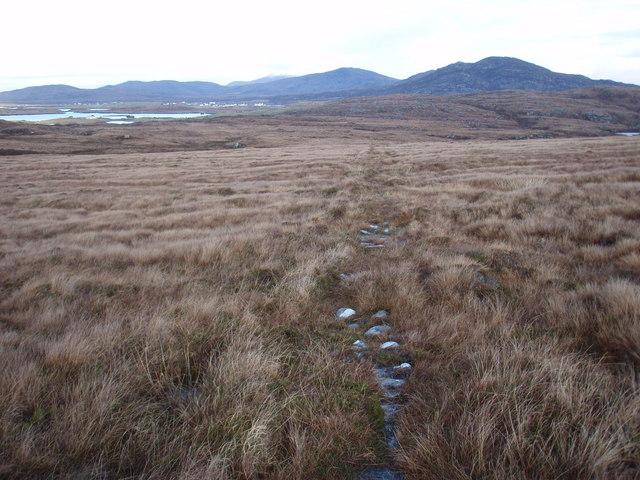 Path between Gleann Dail bho Tuath and Gleann Dail bho Dheas