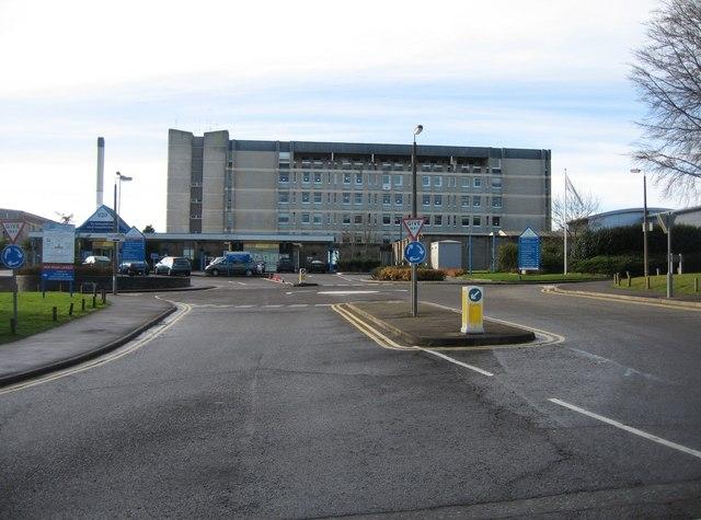 North Hants Hospital - Main block