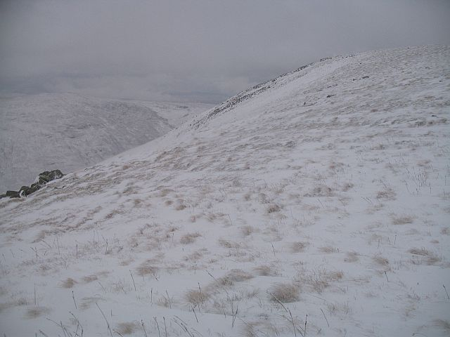 Druim Fada, the west top
