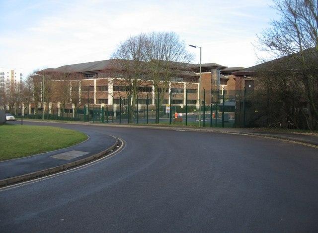 Bend in Priestley Road