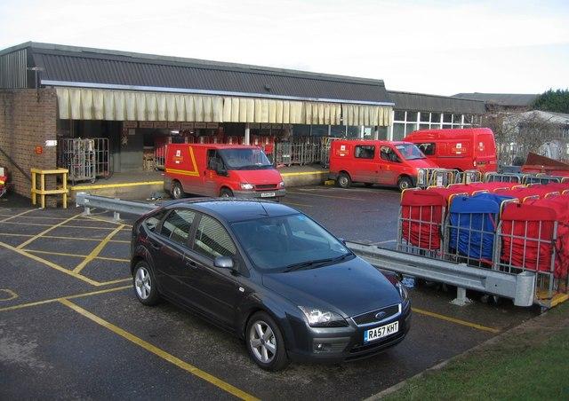 Royal Mail loading bays