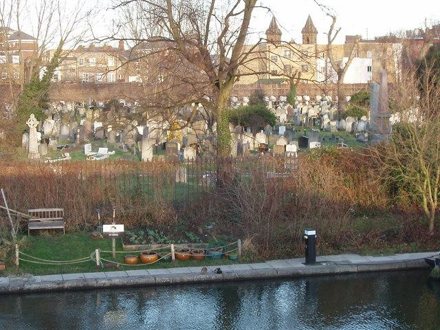Canalside garden, Kensal Green