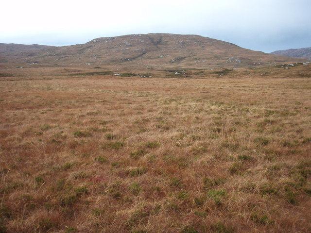 View across Gleann Dail bho Tuath