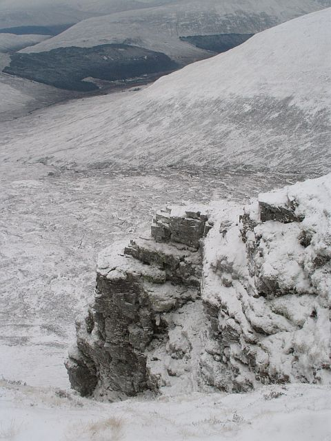 Buttress and gully, Coire an Fhuidhir