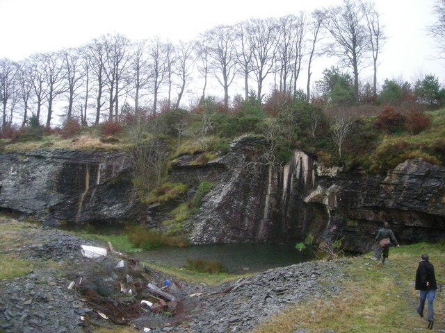 Quarry below Bryn Mawr