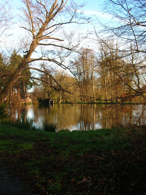 Boating Lake, Groombridge Place
