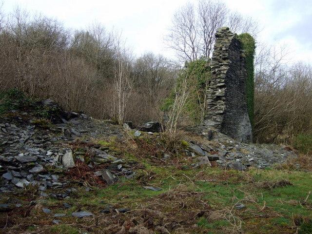 Llanfyrnach mine: Number 1 shaft