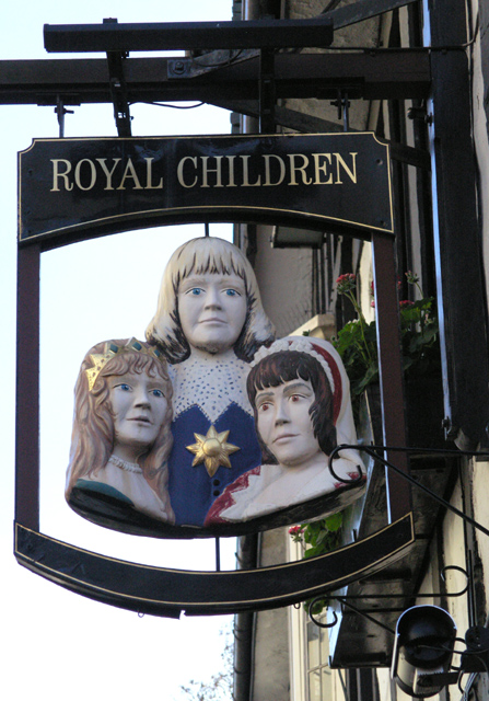 Royal Children - sign