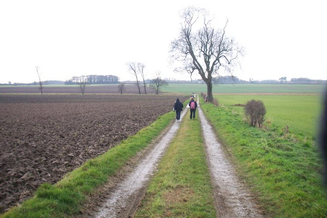 Walking Towards Keelby