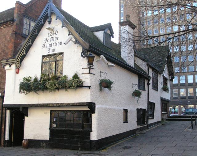 Ye Olde Salutation Inn, Nottingham