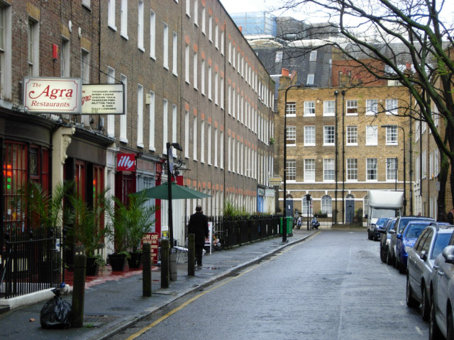 Whitfield Street, Fitzrovia