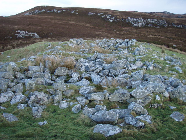 Small hill top by Loch Mòraibh