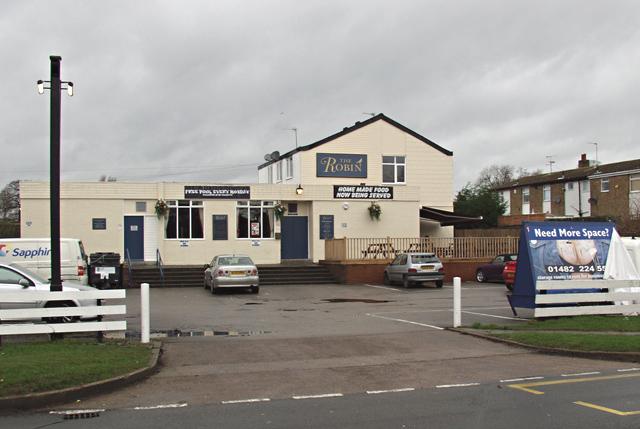 The Robin pub, Hull