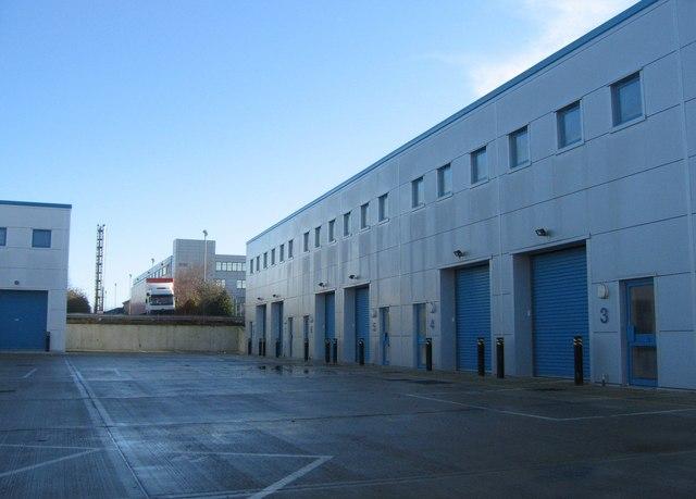 Empty industrial estate.