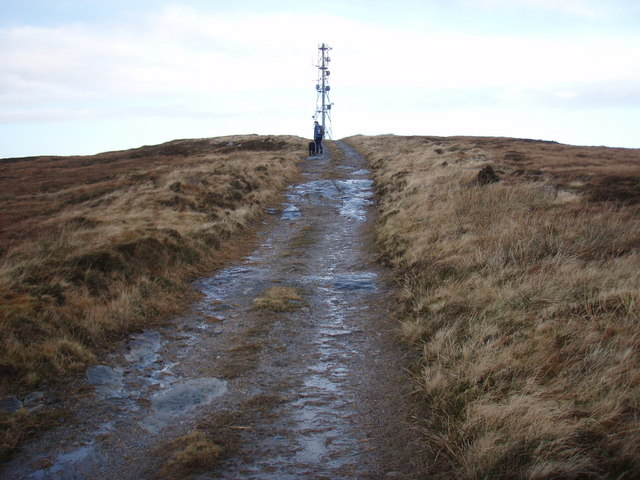 Mast maintenance track