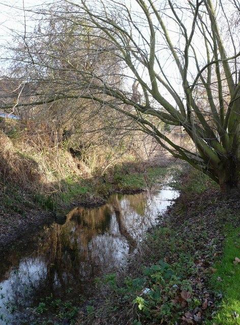 West Brook near Stonebridge Way