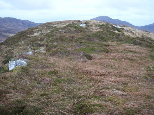 Summit of Beinn Hurabhat