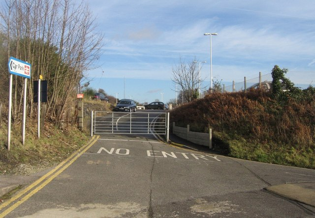 Closed car park access