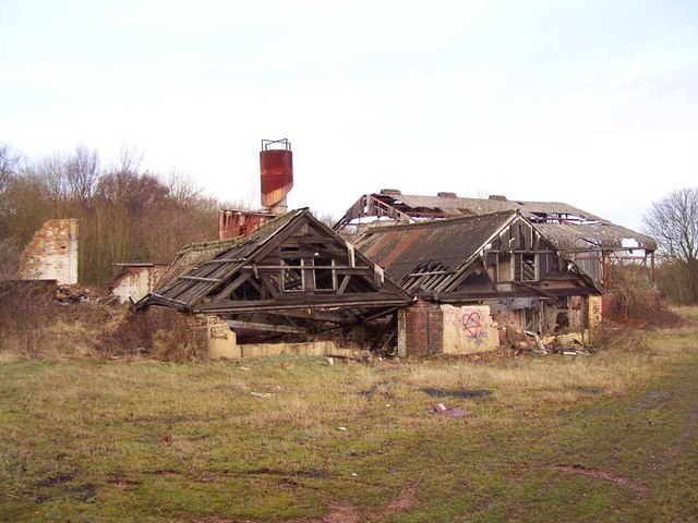 Ruins of the Rawnsley Iron Foundry