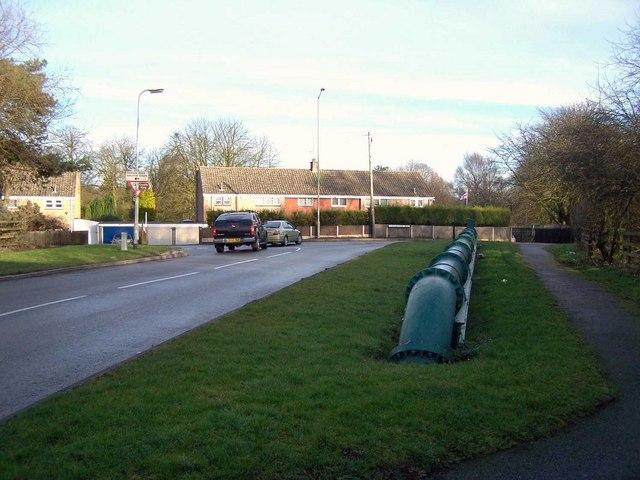 Littleworth Road Junction, Rawnsley