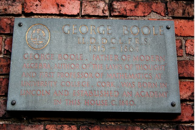 George Boole Plaque