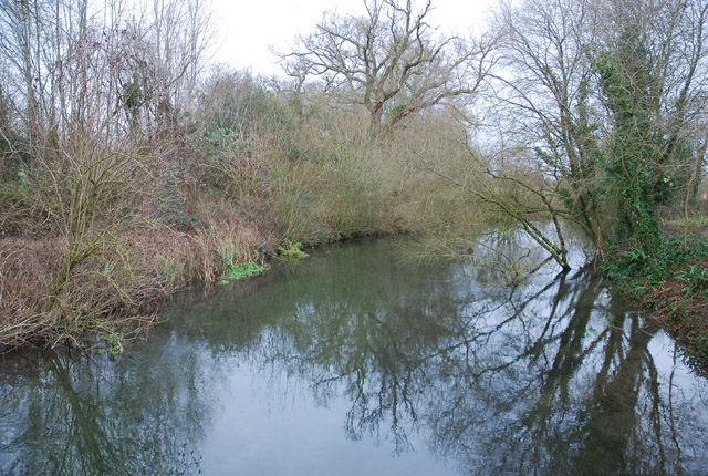 River Allen flowing to New Town