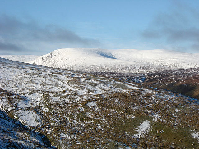 The northeast ridge of Herman Law