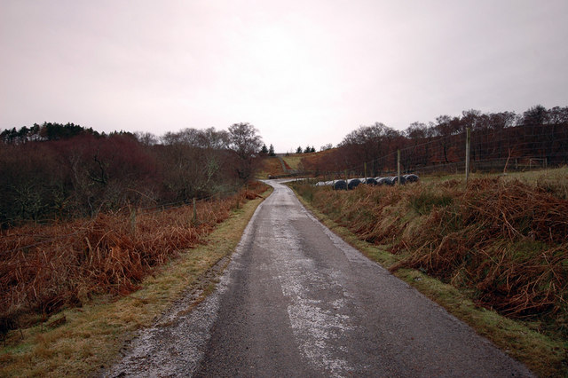 Unclassified road around Kyle of Tongue