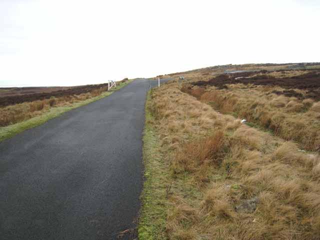 Kyloe Road near Ridlees Cairn