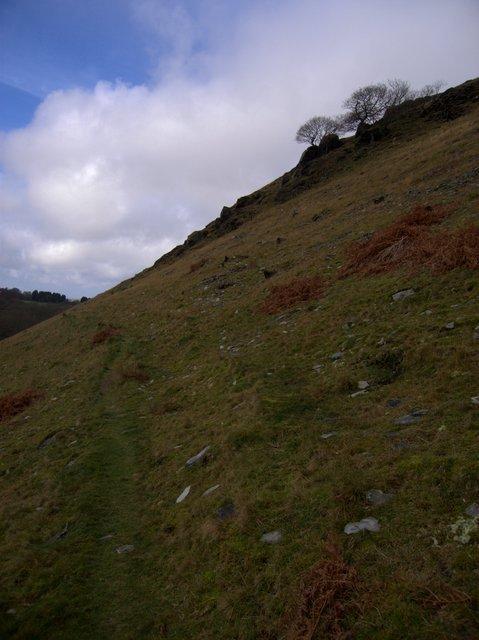 Path at Troed y Rhiw