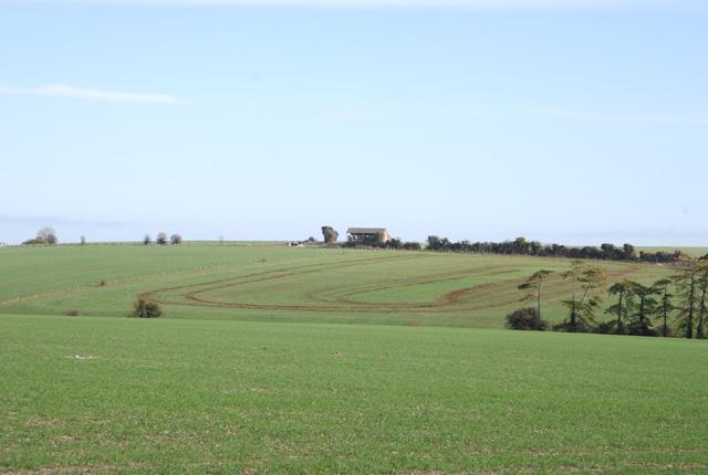 Farmland near Pentridge