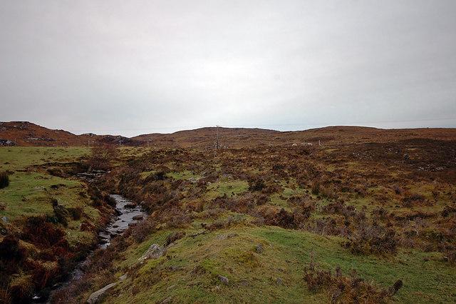 Stream near Kyle of Tongue