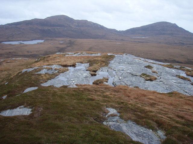 South west ridge of Beinn-ri-Oitir