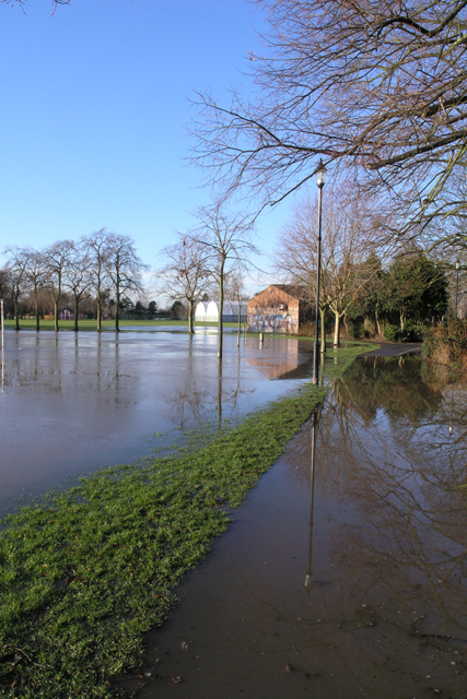 West Park is flooded (1)