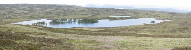 Loch Con from Sron Chon