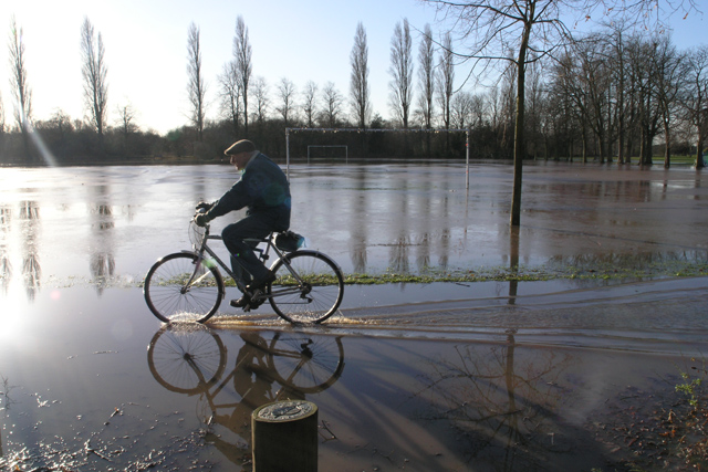 West Park is flooded (2)