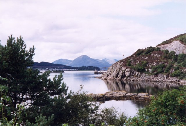 Small bay in Loch Alsh
