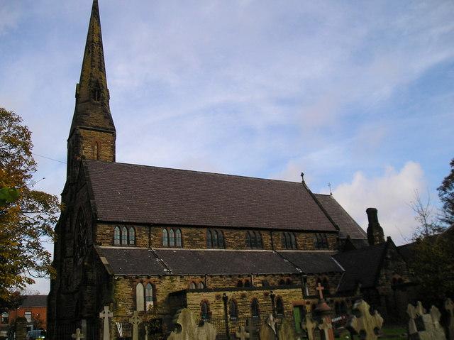 The R.C. Church of Saints Mary and John, Newton le Willows